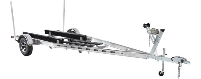 Aluminum Single Axle Commander Series