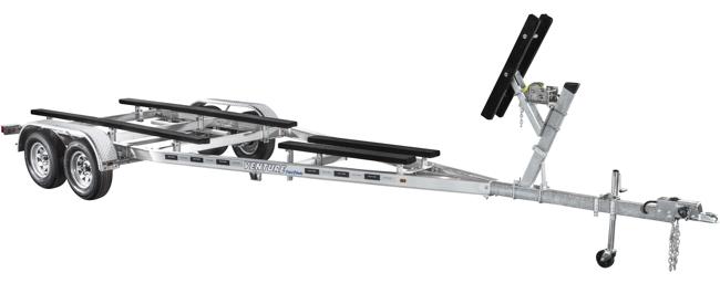 Aluminum Tandem Axle Skiff Trailer