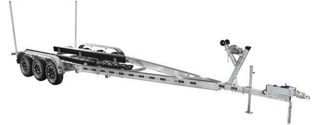 Aluminum Triple Axle Commander Series 10800