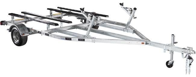 Galvanized Single Axle PWC trailer