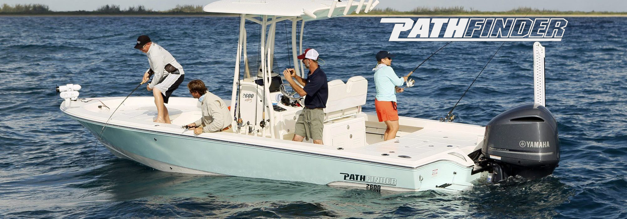 Pathfinder 2600 open water fishing