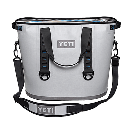 yeti hopper 20 grey